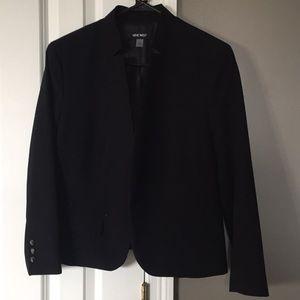 Jackets & Blazers - Black Nine West Blazer